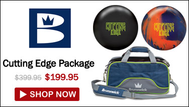 Brunswick Cutting Edge Package - ON SALE FOR $199.95